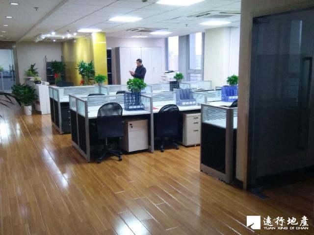 上海写字楼装�_五角场宝隆一方大厦412平米精装修_上海写字楼出租-远行地产