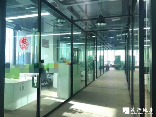 怡化金融大厦 精装整层 开发商物业 实用率高