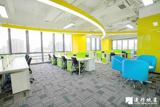 南山科技园 怡化金融科技大厦 1937平米 精装修