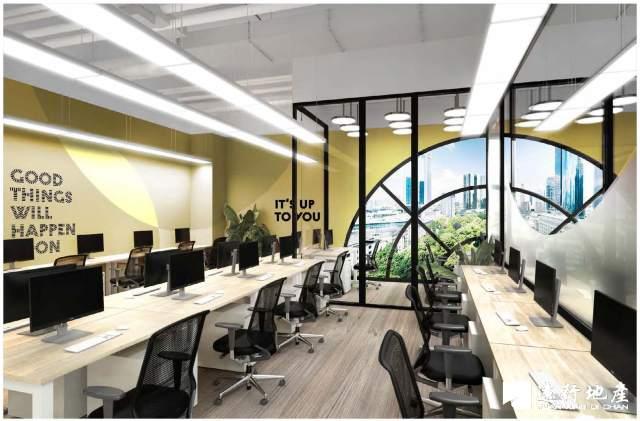 五角场 SOHO3Q(大西洋SOHO) 独立办公室 精装修