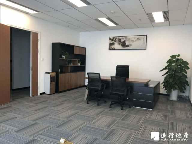 博地中心48楼571方办公室出租精装修 视野开阔事业领航